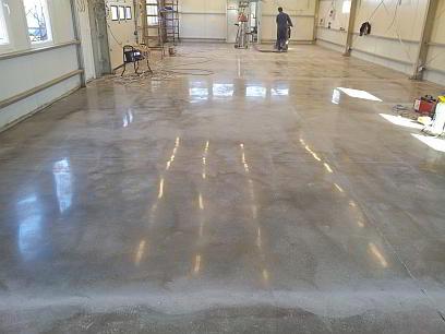 polírozott beton
