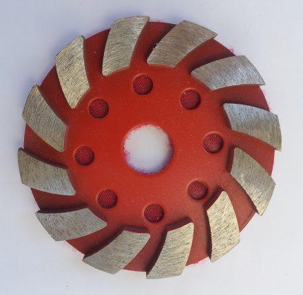 kőcsiszoló fémtárcsa