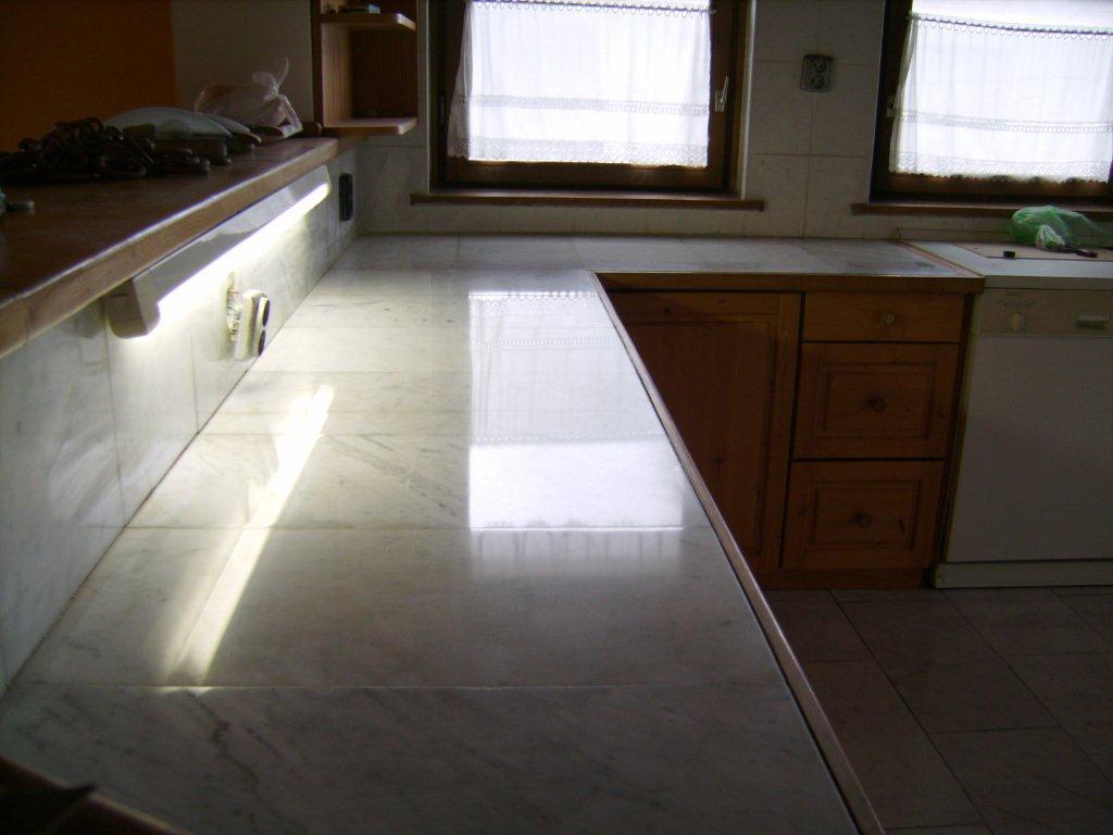 márvány asztal felújítás