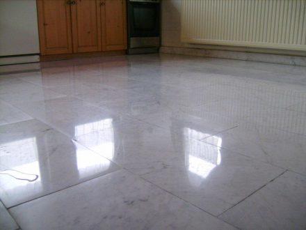 polírozott padló