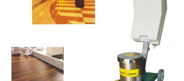 padlósúroló és polírozó gép